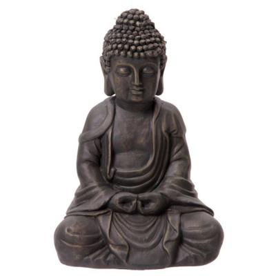 Bouddha en Méditation - Marron 31 cm